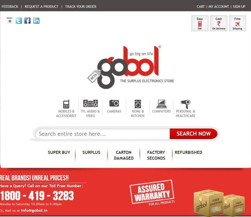 Gobol Cashback, Gobol Coupons, Gobol Offer, Gobol deals