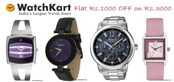 WATCHKART Coupons, WATCHKART Offer, WATCHKART Deals