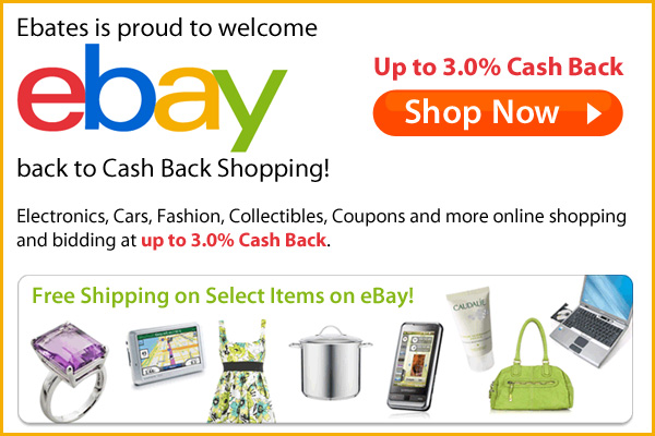 Ebay Cashback, Ebay Coupons, Ebay Deals, Ebay Offer