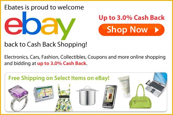 Ebay Cashback, Ebay Coupons, Ebay Deals, Ebay Offer